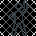 Athlete Sports Person Icon