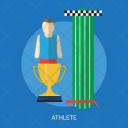 Athlete Sport Awards Icon