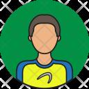 Athlete Avatar People Icon