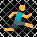 Athlete Track Field Icon