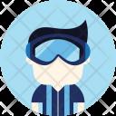 Athlete Avatar Winter Icon