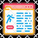 Athlete Information Document Icon