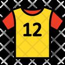 Athlete Shirt Icon