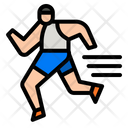 Athletic Runner Icon