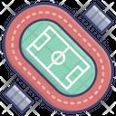 Athletic track Icon