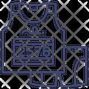 Athletic uniform Icon