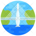 Bridge Atlantic Bridge Footbridge Icon