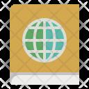 Atlas Book Map Icon