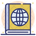 Atlas Book Global Book Geography Book Icon