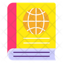 Atlas Book Geographical Book Geography Icon
