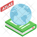 Atlas Book World Map Book World Book Icon