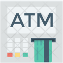 Atm Machine Withdrawal Icon