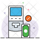 Atm Bank Cash Machine Icon