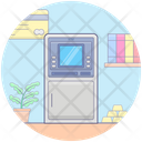 Atm Cash Machine Cash Dispenser Icon