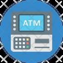 Atm Atm Machine Banking Icon