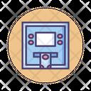 Matm Atm Automatic Teller Machine Icon