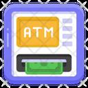 Instant Banking Atm Cash Machine Icon