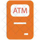Atm Machine Bank Icon
