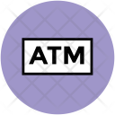Atm Online Banking Icon