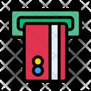Atm Debit Withdraw Icon