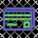 Atm Card Credit Card Debit Card Icon