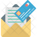 Atm Card By Mail Icon