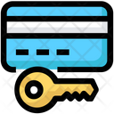 Atm Card Lock Security Icon
