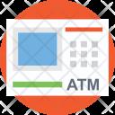 ATM Flat Icon Icon