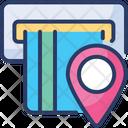 Atm Location Account Bank Icon