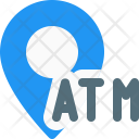 Atm Position Location Icon
