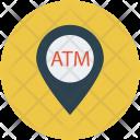 Atm Location Cash Icon