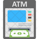 Atm Machine Bank Credit Icon