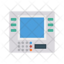 Atm Machine Bank Icon