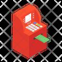 Atm Machine Instant Banking Cash Dispenser Icon