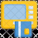 Atm Machine Transfers Card Icon