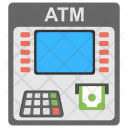 Atm Machine Money Icon
