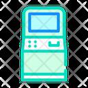 Atm Kiosk Color Icon