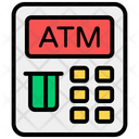 Atm Machine Cash Withdrawal Atm Withdrawal Icon