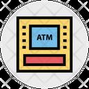 Money Machine Money Atm Icon