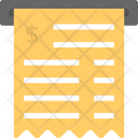 Atm Receipt Terminal Icon