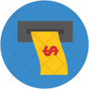 Atm Withdrawal Cash Icon