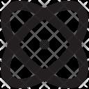 Atom Molecule Nuclear Icon