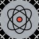 Atom Sign Electron Icon