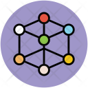 Atom Atomic Orbits Icon