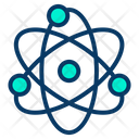 Atom Atomic Molecules Science And Technology Icon