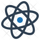 Atom Chemistry Learning Icon