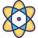 Atom Molecule Orbitals Icon