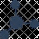 Atom Circles Carbon Cell Icon