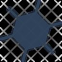 Atom Biology Compound Icon
