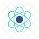 Atom Chemistry Research Icon